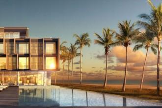 Progetto Dellis Cay nelle Turks and Caicos. Il progetto sull'isola