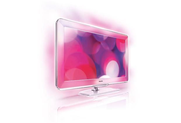 Aura di Philips. La tecnologia Ambilight Active Frame utilizza oltre 250 LED per la creazione di una cornice di luce di vari colori intorno allo schermo che si estende anche sulle pareti. Ambilight regola automaticamente i colori e la luminosità intorno al TV seguendo le immagini e creando un'esperienza visiva. Prezzo: 3.999