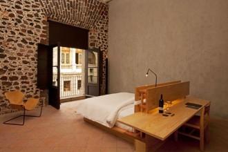 Una delle stanze del Downtown Mexico Hotel