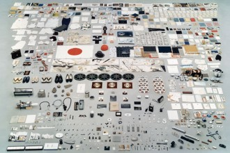"""I contenuti della """"capsula del tempo"""" realizzata dalla Panasonic Corporation per l'Esposizione Universale di Osaka del 1970. ©Panasonic Corporation."""