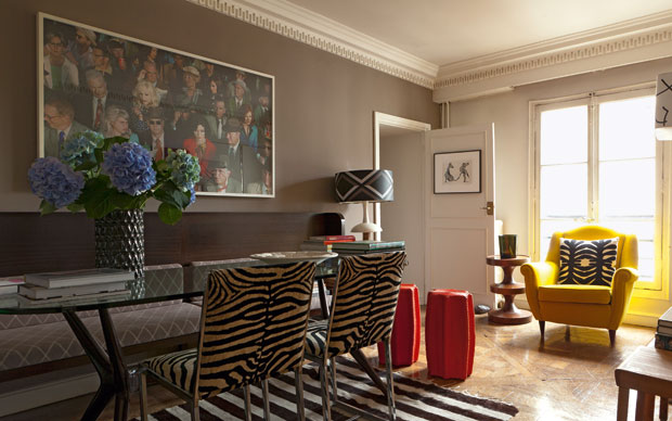 Ricette d 39 arredo livingcorriere for Interni case parigine