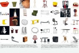La copertina del primo numero di Inventario è già un articolo che illustra una selezione di vasi da fiori di recente progettazione ideati da artisti e designer . La nuova rivista che ruota soprattutto intorno al design