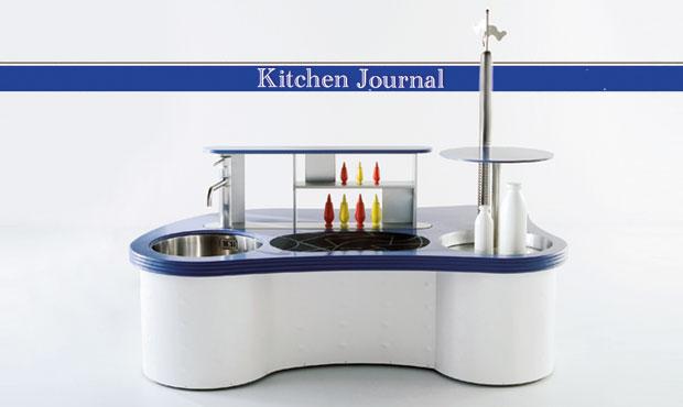 Il prototipo di cucina ideato da Alessandro Mendini e realizzato da Valcucine