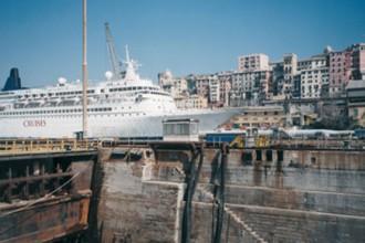 Il porto di Genova