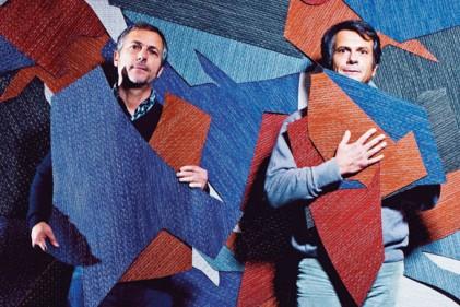 Fernando e Humberto Campana firmano la seconda collezione di design dell'azienda svedese Bolon. Dopo il contributo del gruppo nordico Form us with Love