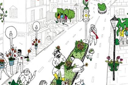 Per agire da guerrilla gardener