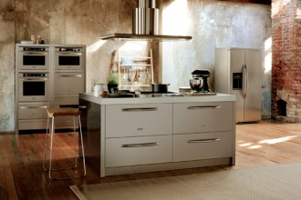 L'Isola rappresenta perfettamente l'esclusivo concetto Full Kitchen Resources di KitchenAid: una gamma completa di elettrodomestici in un'unica soluzione che unisce stile e praticità. Disponibile in 3 dimensioni