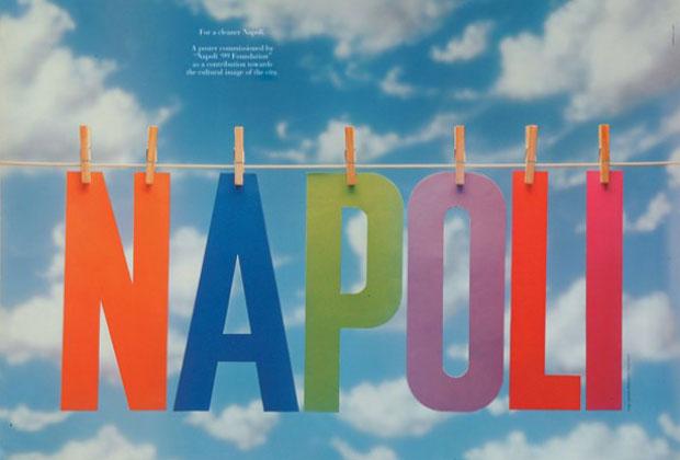 From the eye to the heart. Lavoro Grafico di Armando Milani: Napoli