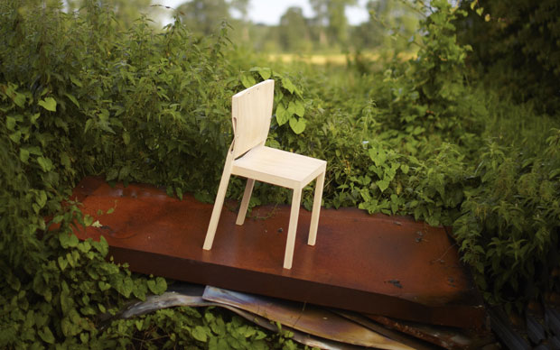 Well Proven Chair by James Shaw and Marjan van Aubel