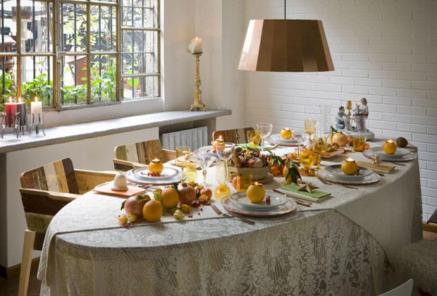 Natura e calore livingcorriere - Tovaglie da tavola di natale ...