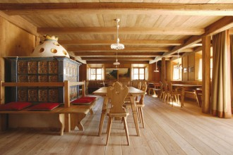 Il Vigilius propone una cucina moderna