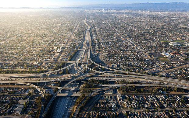 Los Angeles vista dalla macchina fotografica di Iwan Baan