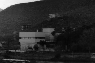 La casa sulla cisterna progettata a Formia nel 1995 da Gabriella Colucci