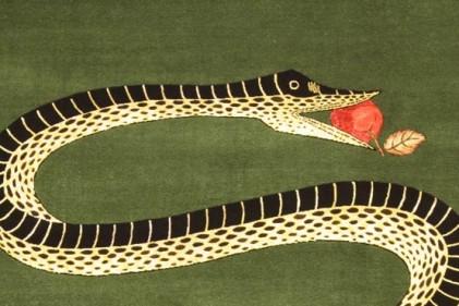 Bacio. 150x198 cm in lana