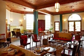 La lobby del Freehand Miami Hostel. Foto Adrian Gaut
