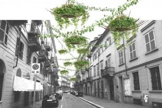 """Social Nestwork"""" di Studio Doppio si ispira ai fili tesi fra i balconi"""