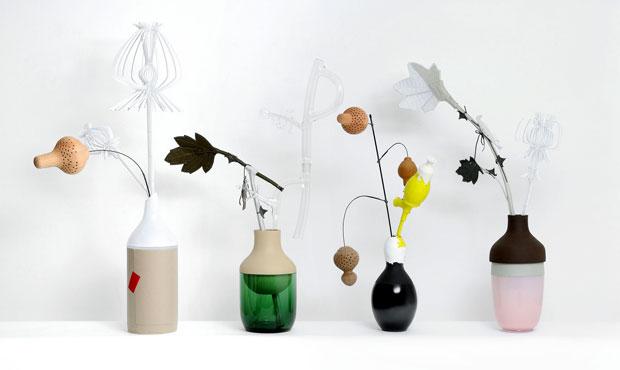 I vasi e i fiori realizzati da Hella Jongerius