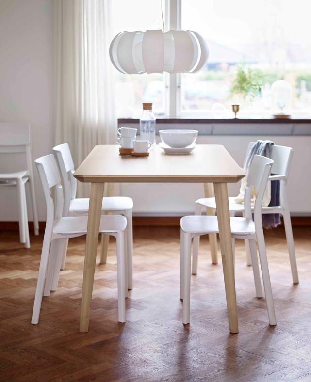 Oggi si mangia tra la cucina e il living - Tavoli da pranzo ikea ...