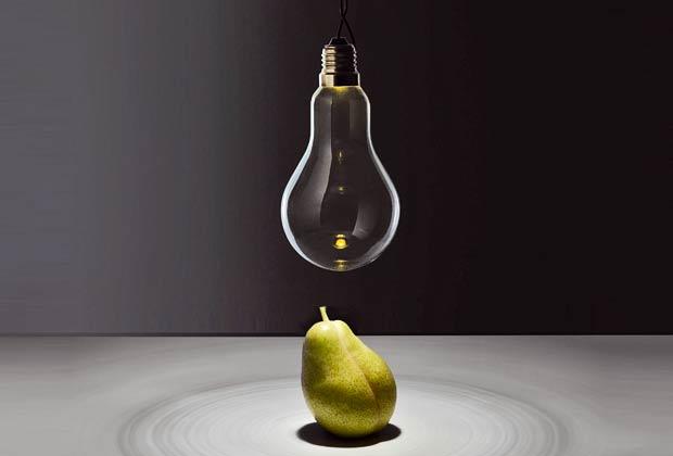 La lampada da terra Wa Wa della collezione 1/5 led Ecologic Light di Catellani&Smith