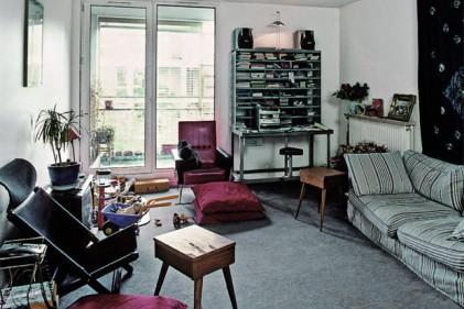 Edificio a corte della rue de Meaux a Parigi (1987-1991). L'interno di uno dei 220 appartamenti del complesso parigino