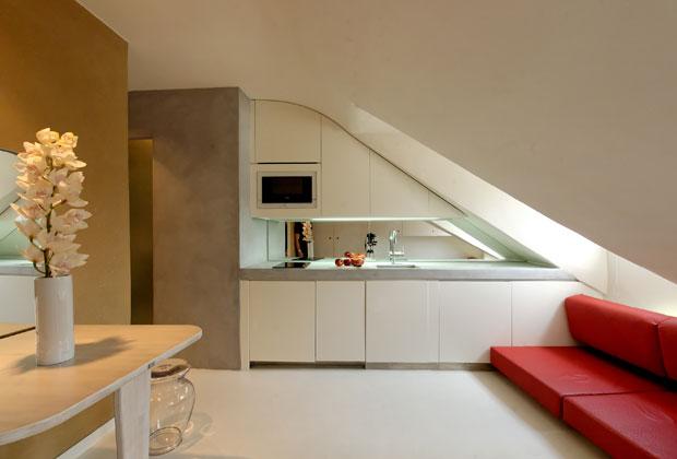 18 mq a parigi livingcorriere for Arredare mini appartamento ikea