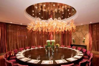 Una creazione di Jitka Kamencová Skuhravá nella sala Vip del Fairmont Hotel di Pechino
