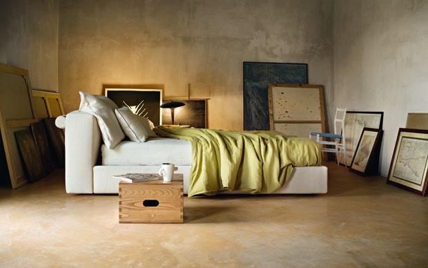 I letto Mex di Piero Lissoni per la collezione Sleeping Authentics di Cassina