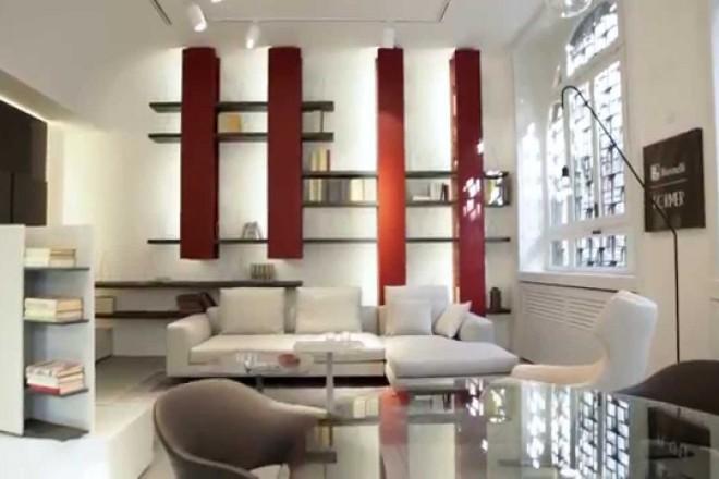 Lo showroom Maistri e Actual Spotti