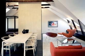 Una vecchia soffitta nel centro di Stoccolma viene riconvertita dallo studio svedese Claeson Koivisto Rune