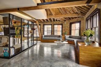 L'intervento di Dos Architects per il nuovo ufficio dell'agenzia creativa MAD