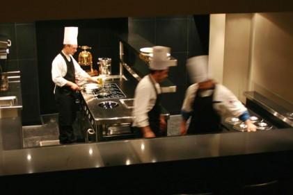 La cucina a vista del Marchesino. Realizzata su misura da De Manincor