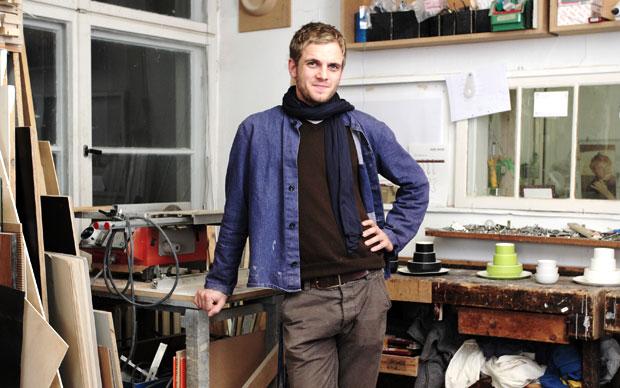 Mark Braun nel suo atelier