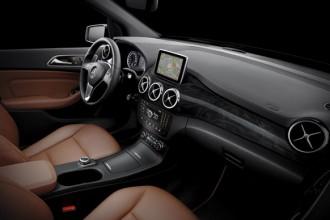 Gli interni della nuova Classe B di Mercedes progettati dall'Advaced Design Center di Como