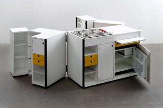 Virgilio Forchiassin Spazio Vivo unità cucina mobile 1968