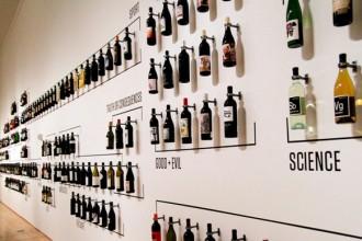 Wine Label Gallery. La mostra raccoglie circa 200 etichette