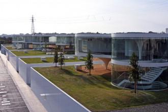 Un'immagine d'insieme del complesso della Namics