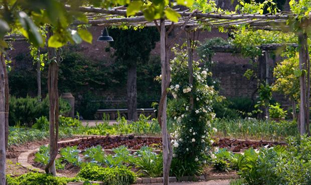 Un orto è come un grande puzzle i cui tasselli cambiano di stagione in stagione e di anno in anno. Nell'immagine