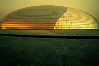 Il nuovo National Grand Theater of China comprende un'Opera House