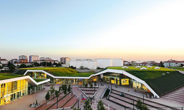 Vista del centro Meydan