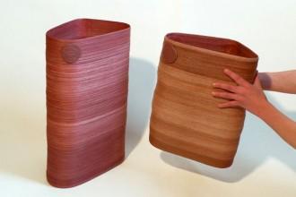 Due contenitori di plastica creati dall'Idea of a tree