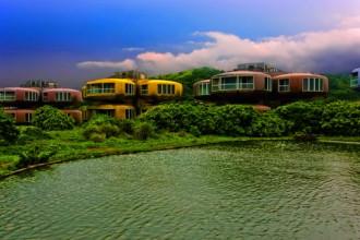 Il villaggio turistico abbandonato sulla costa dell'isola di Taiwan che ha offerto a Carlo Antonelli lo spunto per questo racconto