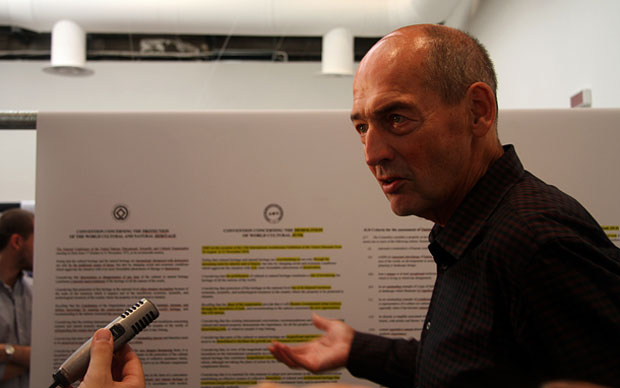L'architetto olandese ritratto alla Biennale di Architettura del 2010