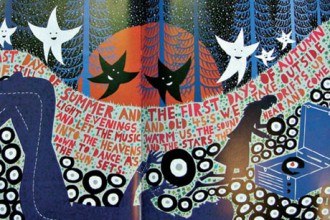 Immagine di Rob Ryan tratte dal libro This is for You edito dallo stilista Paul Smith