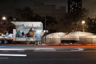 """Pike Loop"""", il muro di ben 7000 mattoni costruito da un robot, è il primo esperimento  riuscito di questo tipo"""