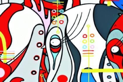"""Lavoro anonimo della serie """"special project brand street art exhibition"""" pubblicato da ROJO® magazine nel 2007"""