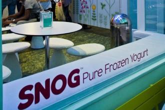 Il primo dei negozi britannici di Snog è firmato da Cinimod Studio in collaborazione con Studio Uribe