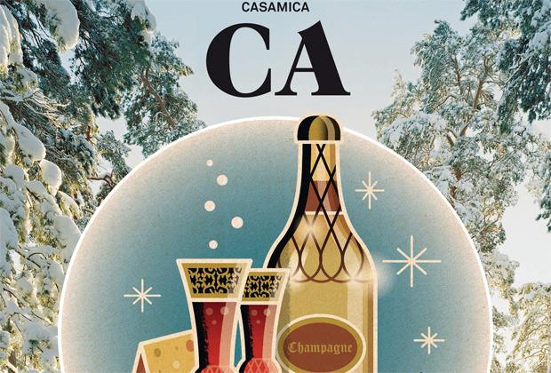 La copertina del numero di Casamica di dicembre/gennaio