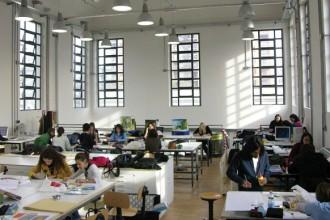 Un'aula della NABA