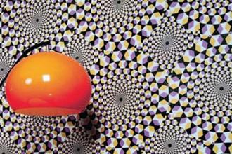 Si ispira alla mimetizzazione l'ambiente decorato con pattern a pois
