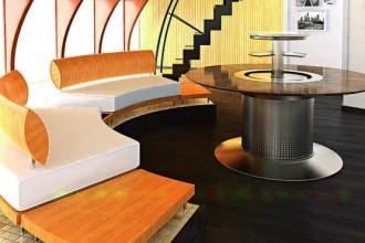 Foto ambientata del nuovo Smart Table